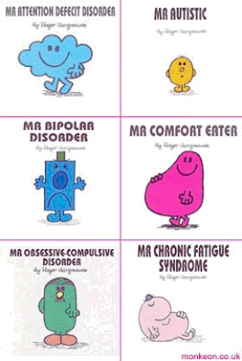 Mr Men with a difference, new inappropriate characters