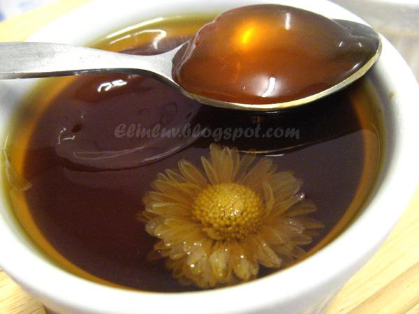 Elinluv's Sweet Delights: Chrysanthemum Herbal Tea Jelly
