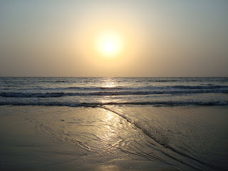 juhu beach sunset