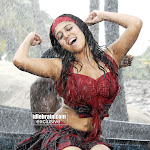 Nayanthara Hot Rain Dance Photos