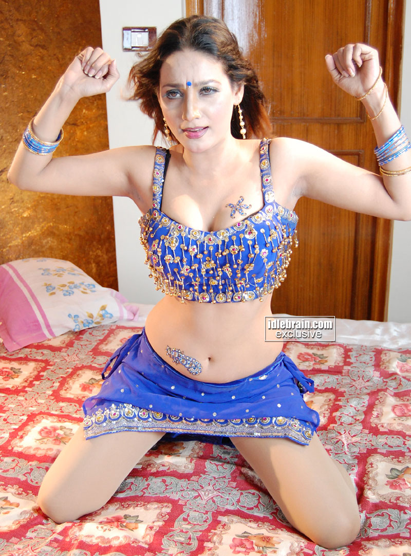 South Indian Masala Hot Actress Anu Vaishnavi Spicy Pictures