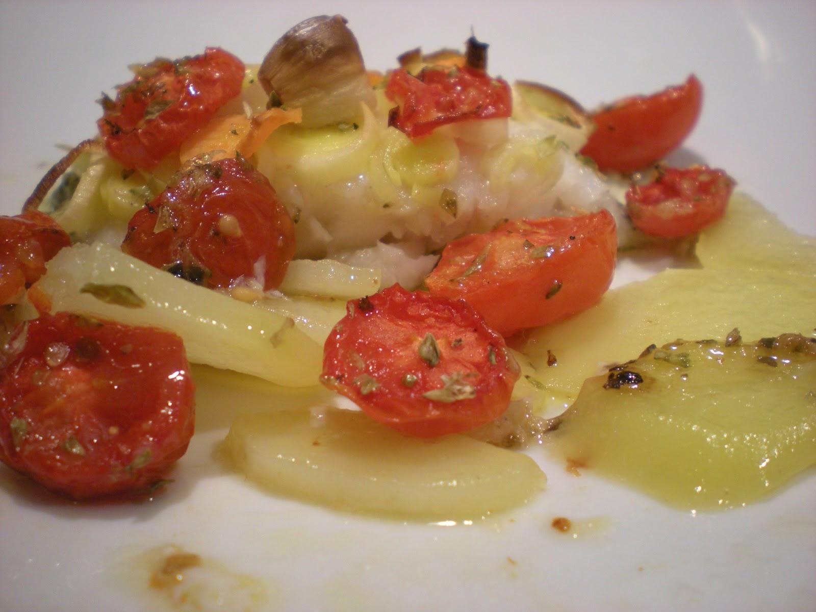 I fiori di loto san pietro alle verdure su letto di - Pesce su letto di patate ...