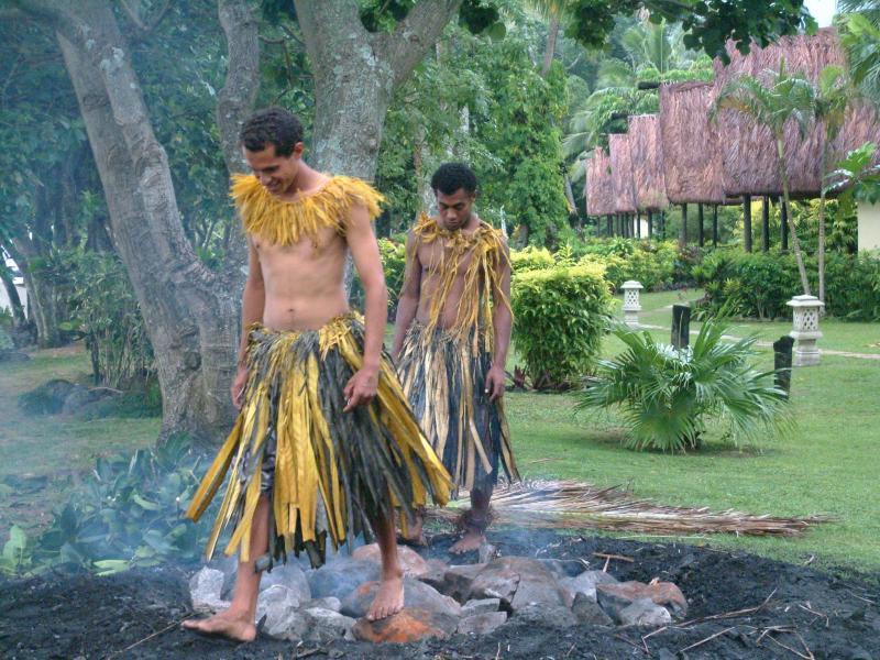 I Camminatori sul fuoco dell'isola di Beqa, Fiji