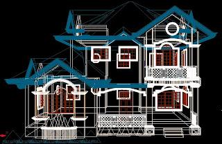 3d house modelling