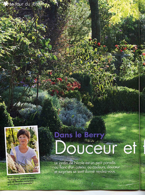 "Reportage dans ""l&#39;Ami des Jardins"" d&#39;octobre 2010"