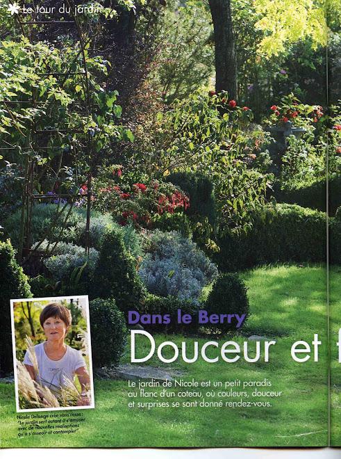 """Reportage dans """"l'Ami des Jardins"""" d'octobre 2010"""