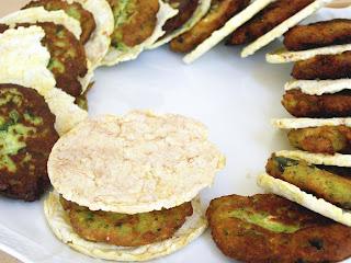 fritelle salate di zucchine e ricotta