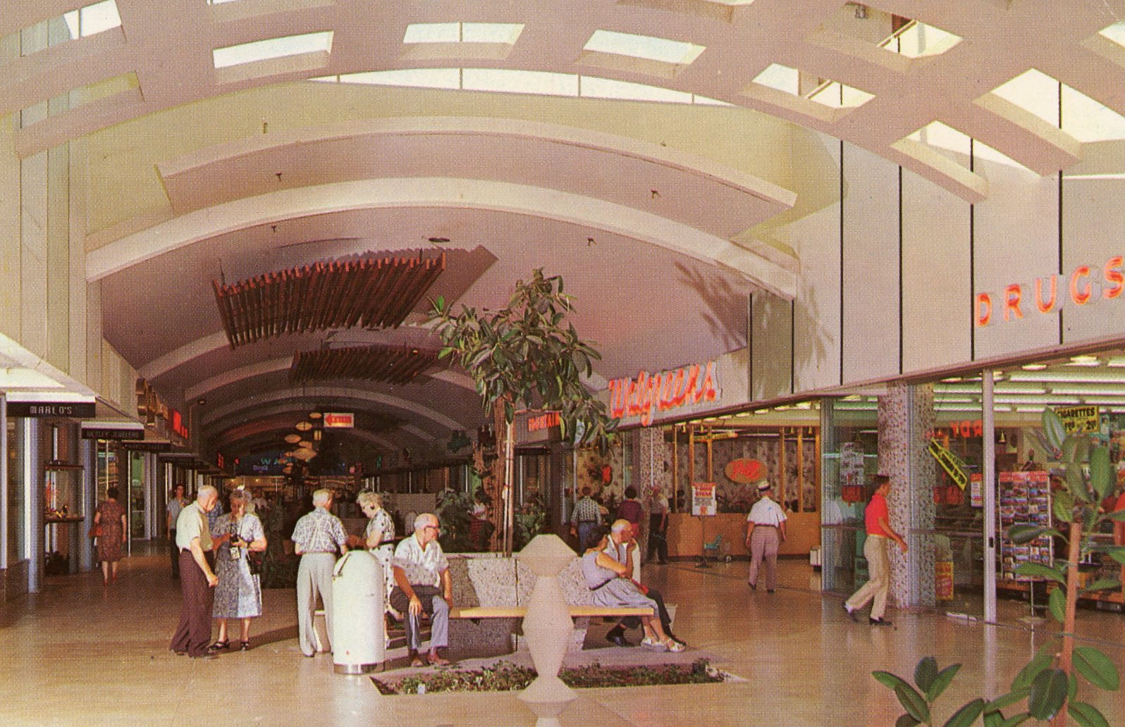 vintage shopping center