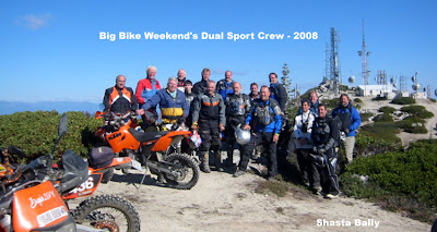 2008 big bike weekend Norcal Dual Sport