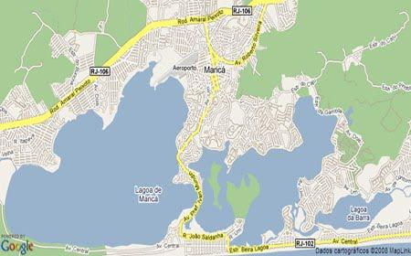 Mapa de Maricá