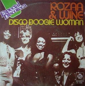 Rozza Wine Disco Boogie Woman