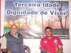 Vereador Edmundo Visita o Secretário Riograndino Rocha