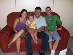Vereador Edmundo da Rosa recebe a visita do Sr. Flávio (Pé de Chulé) e família