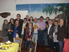 Presidente do Legislativo Ver. Edmundo da Rosa e Equipe Técnica da FADERS