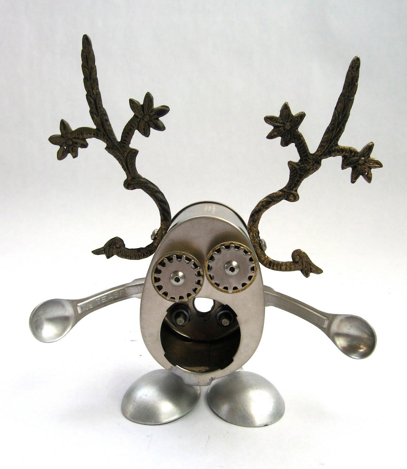 Robot Art Found Objects