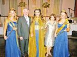 clique na foto para ler reportagens sobre a coroação das soberanas da Fenarroz