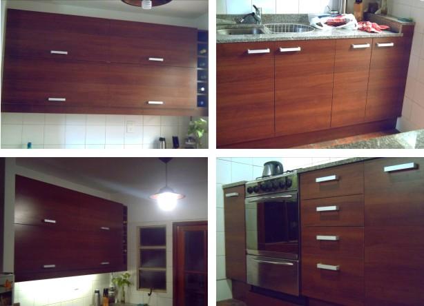 Eastwood muebles funcionales cocina nogal habano for Muebles de cocina funcionales