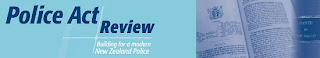 New Zealand police act review logo