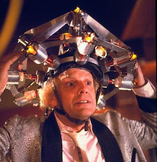 Doc Brown's mind reading apparatus