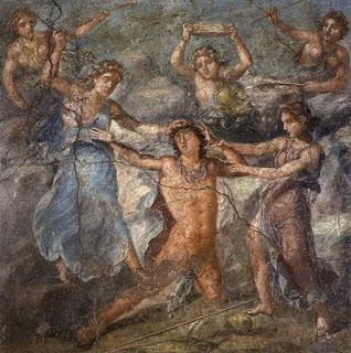 El suplicio de Penteo, Pompeya