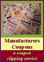 Maufacturers coupons