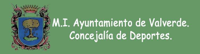 M. I. Ayuntamiento de Valverde. DEPORTES