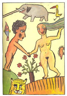 Ilustración by Rotraut Susanne Berner