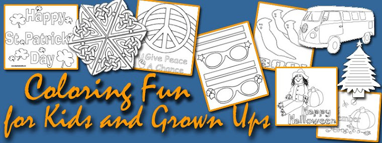 Coloring Fun for Kids and Grownups
