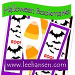 printable bookmarks, halloween party favors