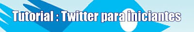 Twitter para iniciantes
