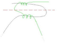 Porta-guardanapos de miçangas - Como fazer o nó