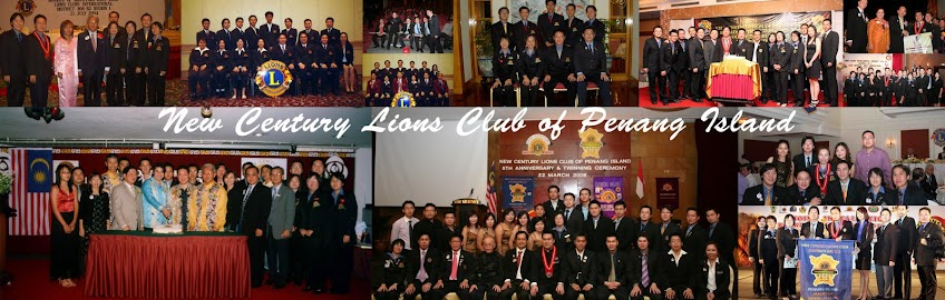 Lions Club of Penang Island New Century