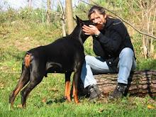 io ed il mio primo cane: grande Gordon!