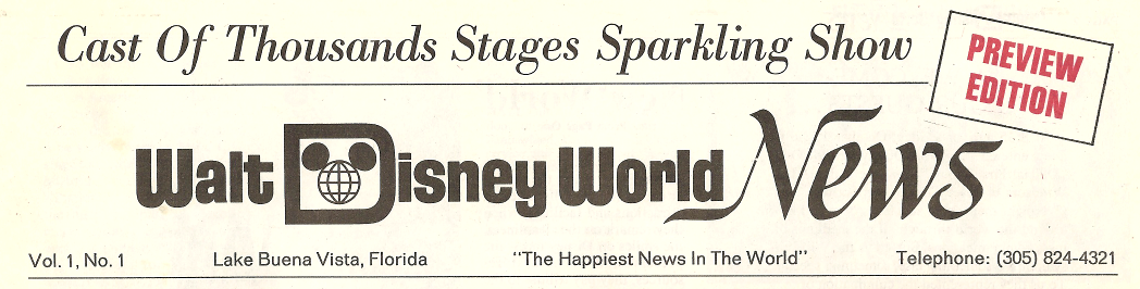 I'm a big fan of the old Walt Disney World logo, the Mickey globe if you