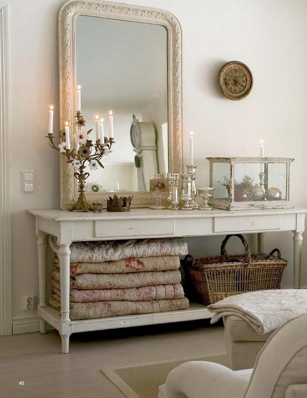 Vintage chic: inspirasjon: stue/ inspiration: living room