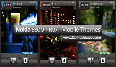 White Nokia N97 Theme for Nokia White Theme for Nokia N97