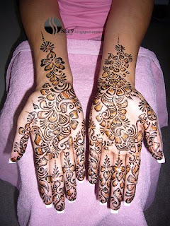 new arabic Mehndi design for Feet