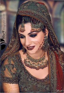 Pakistani And Indian Bridal Makeup - She9   Change The Life Style