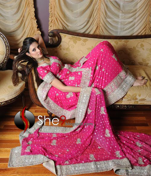 Graceful Embroidered Dresses | Bridal Embroidered Fashion