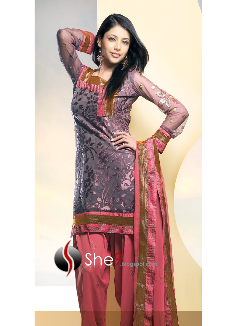 Salwar kameez neckline styles dresses