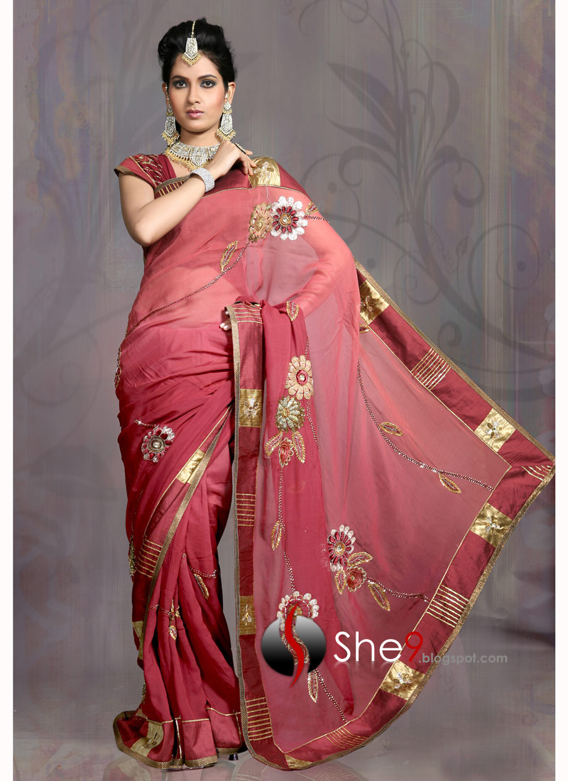 ... Artistic Sarees | Delhi Saree Designs - She9 | Change the Life Style