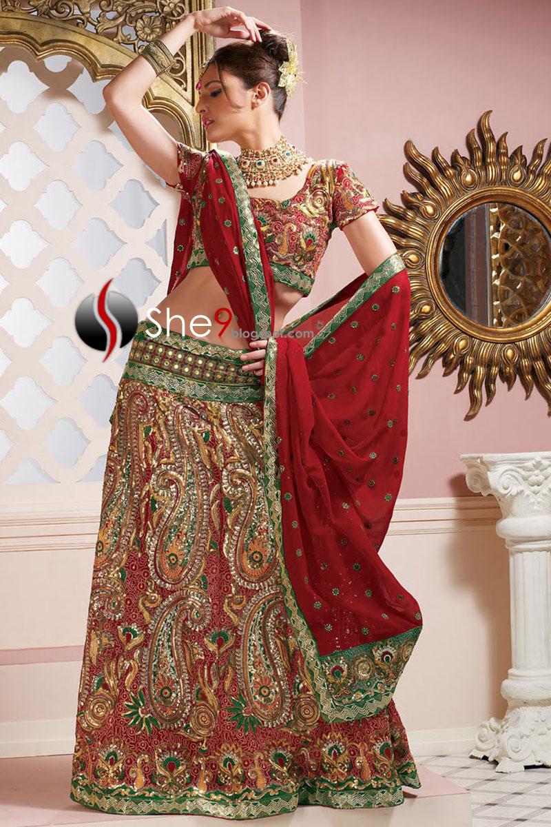 indian wedding dress designs