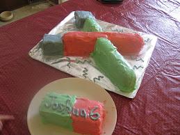 Joshua's b-day cake