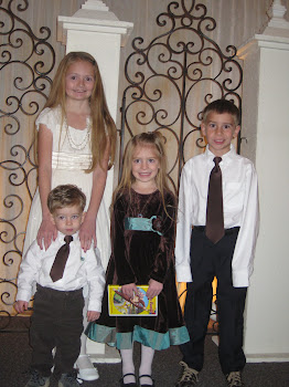 The kids at my brother's wedding