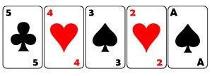 Jogadas de Poker, Seqüência