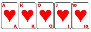 Jogadas de Poker, Royal Straight Flush