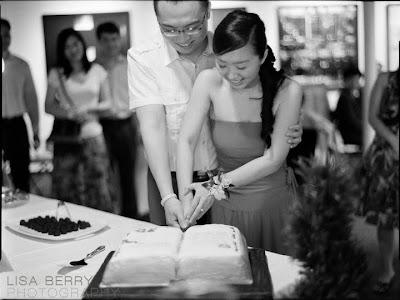 Blu Boy wedding cake