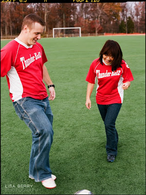 soccer engagement session