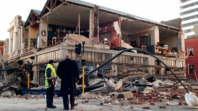 Christchurch Earthquake