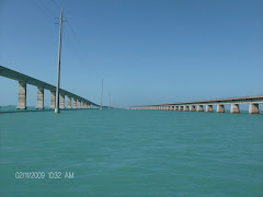 Seven Mile Bridge--old and new